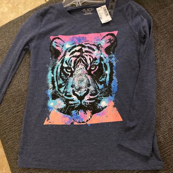 Children's Place Other - Coloring Book Long Sleeved Tiger Shirt for Girls